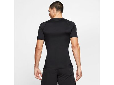 NIKE Herren T-Shirt TOP TIGHT Schwarz