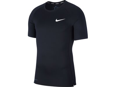 NIKE Herren T-Shirt TOP TIGHT Schwarz