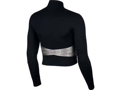 NIKE Damen Sweatshirt HYPERWARM Schwarz
