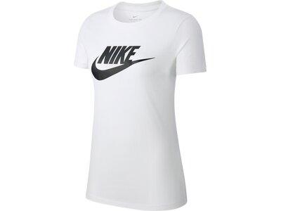 NIKE Damen Shirt ESSNTL ICON FUTURA Grau