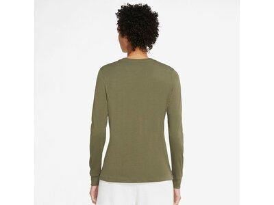 NIKE Damen Langarmshirt Sportswear Braun
