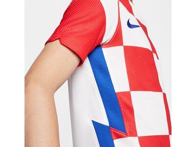 NIKE Kinder Fantrikot Kroatien 2020 Stadium Home Silber