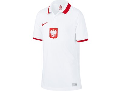 NIKE Kinder Fantrikot Polen 2020 Stadium Home Weiß