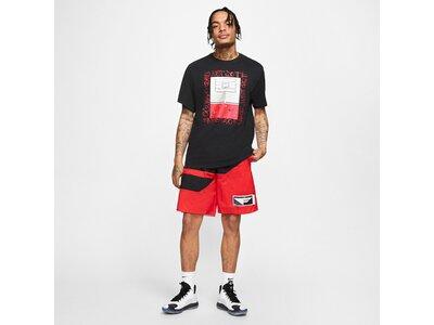 "NIKE Herren Basketball T-Shirt ""Dri Fit Hoop Photo"" Silber"
