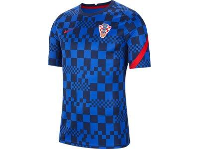 NIKE Herren Fanshirt Kroatien Blau