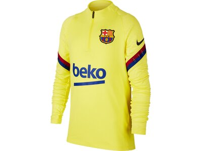 NIKE Kinder Langarmshirt FC Barcelona Strike Gelb