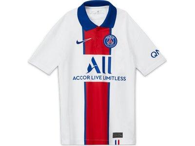 "NIKE Jungen Trikot ""Paris Saint-Germain Stadium Away"" Weiß"