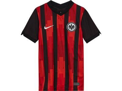 "NIKE Junge Trikot ""Eintracht Frankfurt 2020/21 Stadium Home"" Silber"