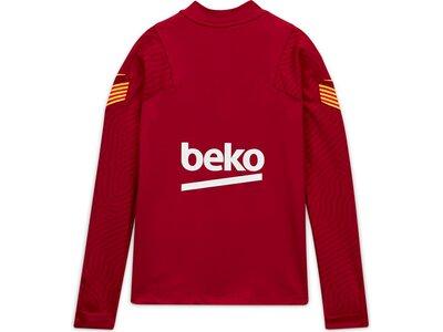 NIKE Replicas - Sweatshirts - International FC Barcelona Dri-FIT 1/4 Zip Top Kids LS Rot