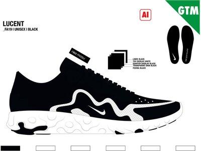 "NIKE Kinder Sneaker ""Renew Lucent Big Kids"" Silber"