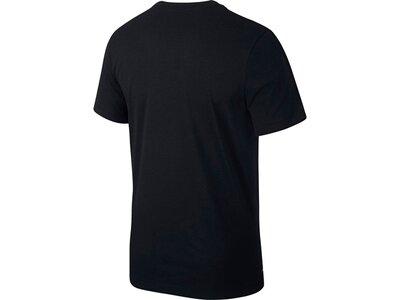 NIKE Herren Trainingsshirt Kurzarm Schwarz