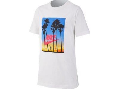 NIKE Kinder T-Shirt B NSW TEE NIKE AIR SUNSET Grau