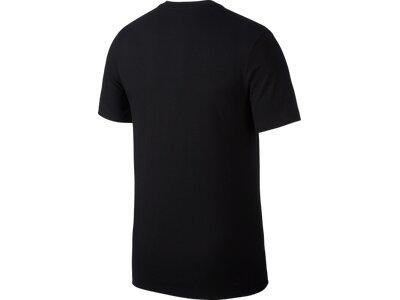 NIKE Herren Shirt JUMPMAN SS CREW Schwarz