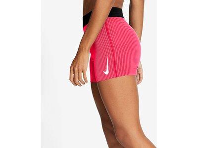 NIKE Damen Laufshorts AeroSwift Pink