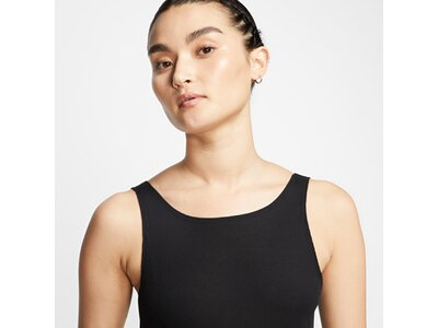 NIKE Damen Tanktop Yoga Schwarz