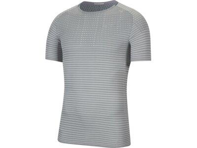 """NIKE Herren Laufshirt """"Nike TechKnit Ultra"""" Grau"""
