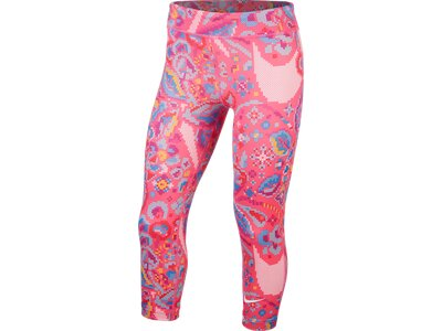 "NIKE Mädchen Trainingstights ""One Capri"" Pink"