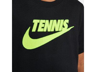 NIKE Kinder Tennis T-Shirt YTH NKCT SS TEE DFC TENNIS GFX Schwarz