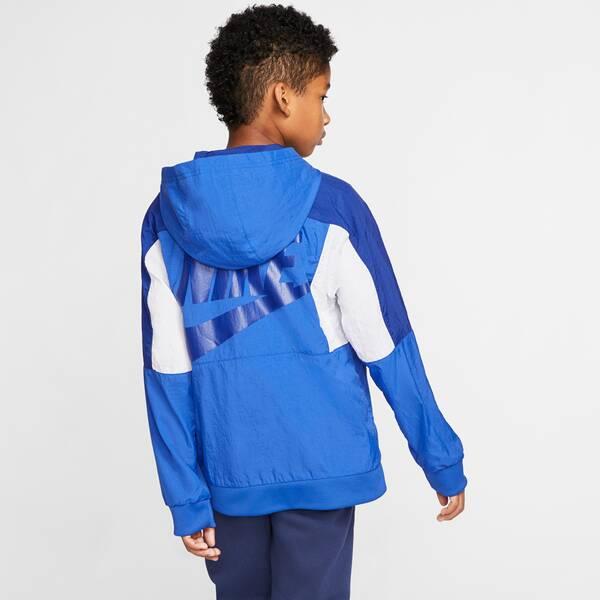 NIKE Kinder Sweatshirt NSW WOVEN FZ