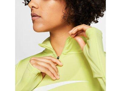 NIKE Running - Textil - Sweatshirts Drilltop Running Damen Gelb