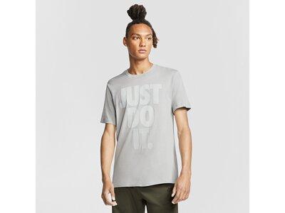 NIKE Herren T-Shirt Silber