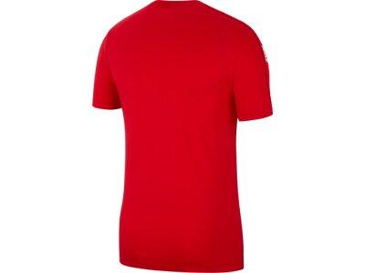"""NIKE Herren T-Shirt """"Hybrid"""" Rot"""