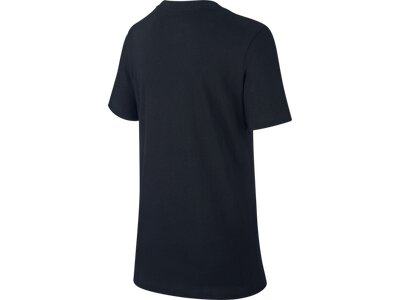 NIKE Kinder T-Shirt FUTURA HAZARD Schwarz