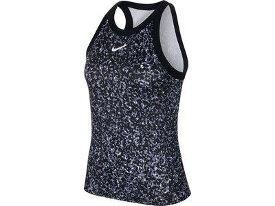 """NIKE Damen Tennisshirt """"Court Dri-FIT"""" Ärmellos Schwarz"""