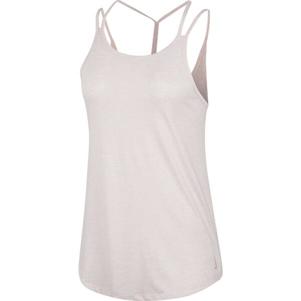 NIKE Damen Shirt YOGA STRAPPY TANK
