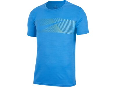 NIKE Herren T-Shirt Dri-FIT Superset LV 2.0 Blau