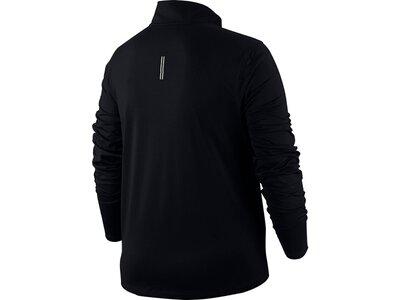NIKE Damen Laufsport Shirt Langarm Schwarz