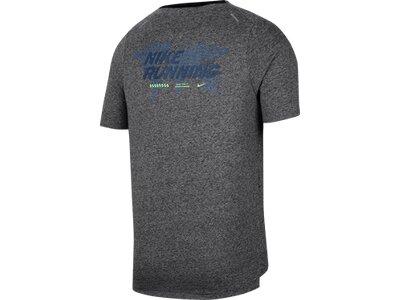 "NIKE Herren T-Shirt Kurzarm ""Rise 365 Future Fast"" Grau"