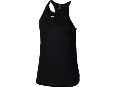"NIKE Damen Trainingstop ""Nike Pro AeroAdapt"" Silber"
