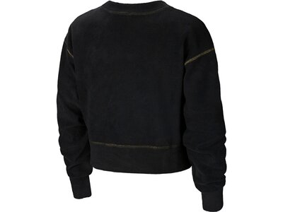 NIKE Damen Sweatshirt Therma Icon Clash Schwarz