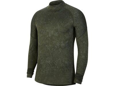 NIKE Herren Sweatshirt Pro Warm Utility Grau