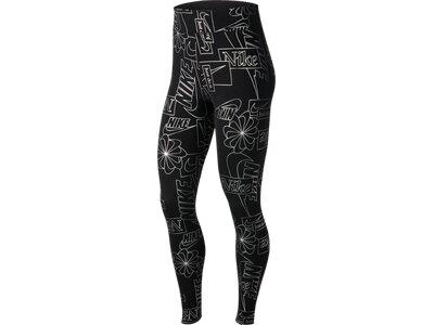 NIKE Lifestyle - Textilien - Hosen lang AOP Icon Clash Leggings Damen Schwarz