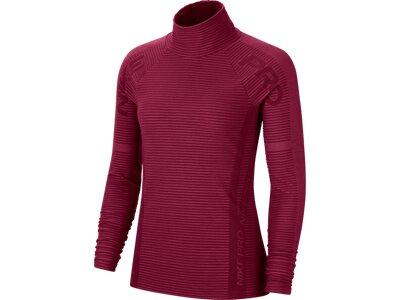 "NIKE Damen Sweatshirt ""Nike Pro HyperWarm"" Rot"