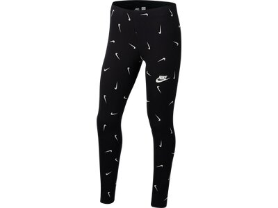 NIKE Kinder Tights Schwarz