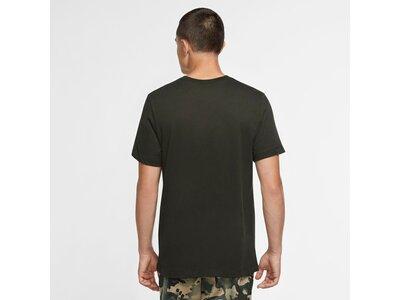 NIKE Herren Trainings-Shirt Grau