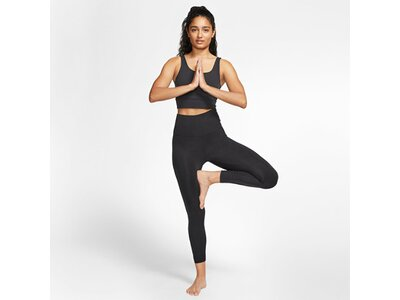 NIKE Damen THE YOGA LUXE CROP TANK Schwarz