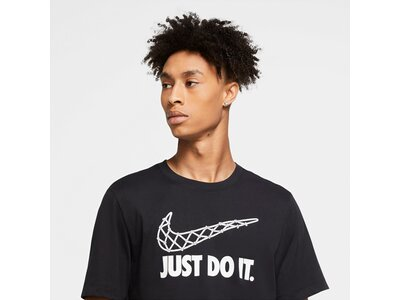 "NIKE Herren T-Shirt ""Just do it"" Schwarz"