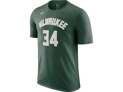 "NIKE Herren Basketballshirt ""Milwaukee Bucks Nike NBA"" Grau"