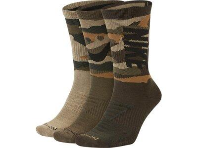 NIKE Fußball - Textilien - Socken Everydas Max Cuch Crew Socken 3er Pack Grau