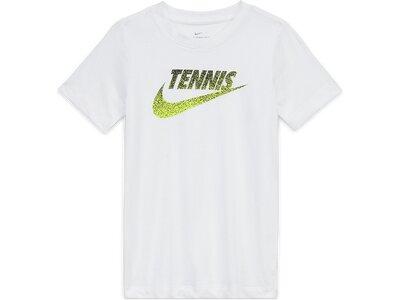 NIKE Kinder Shirt YTH NKCT TENNIS GRAPHIC Weiß