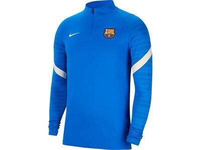 NIKE Herren Langarmshirt FC Barcelona Strike Blau