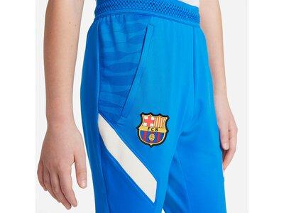 NIKE Kinder Hose FC Barcelona Strike Blau