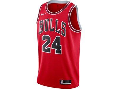 "NIKE Herren Basketballtrikot ""NBA Lauri Markkanen Chicago Bulls Icon Edition 2020"" Rot"