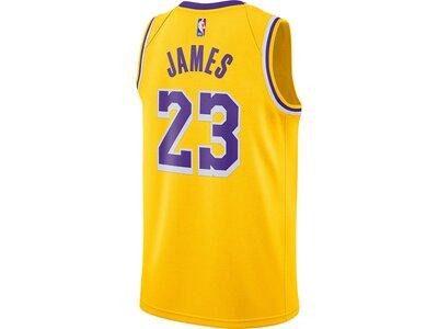 NIKE Trikot LeBron James Lakers Icon Edition 2020 Gold