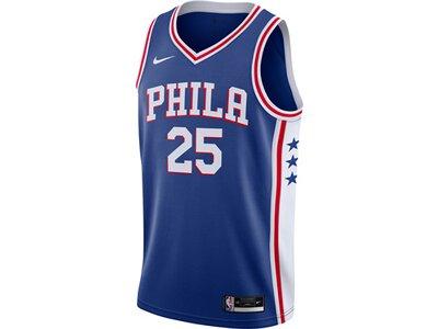 "NIKE Herren Basketballtrikot ""NBA Ben Simmons Philadelphia 76ers Icon Edition 2020"" Blau"