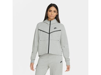 NIKE Lifestyle - Textilien - Jacken Tech Fleece Windrunner Damen F063 Silber